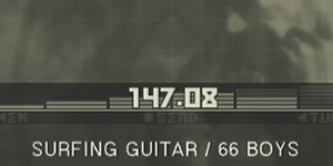 MGS3 : ヒーリングラジオ周波数
