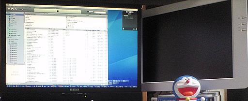 LCD-AD221XB と SONY PCVD-17SD1
