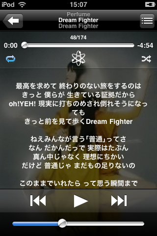 iPod touchで表示