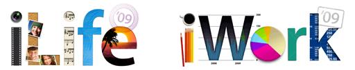 iLife 09/iWork 09 ロゴ