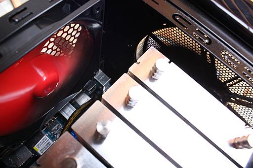 Core i7自作パソコン ターボファン