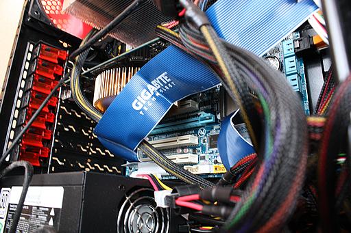 Core i7自作パソコン 電源まわり