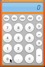 Dashboard 電卓