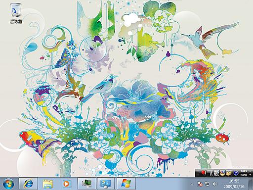 Windows 7 テーマ(シーン)