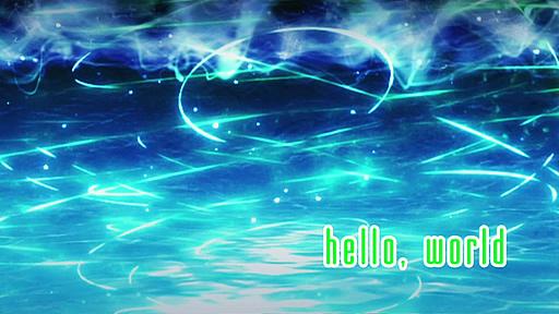 よくわかる現代魔法 第01話「hello,world」