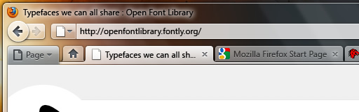 Firefox 4.0 UI案