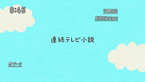 NHKの時計フォント