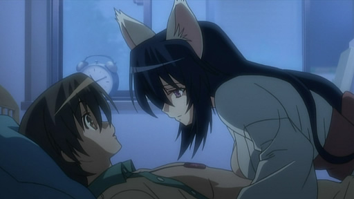 おまもりひまり 第01話「猫と少女とアレルギー」