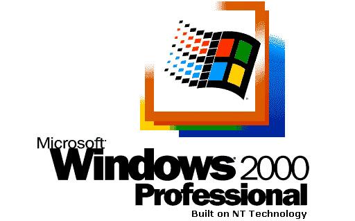 Windows 2000 ブート画面