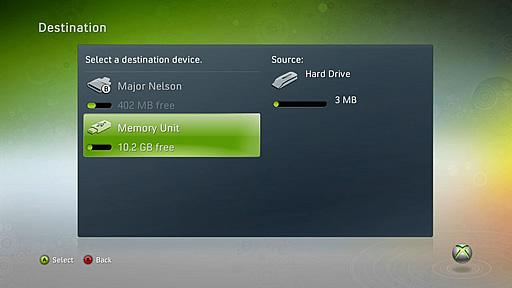 Xbox 360 USB Mass Storage