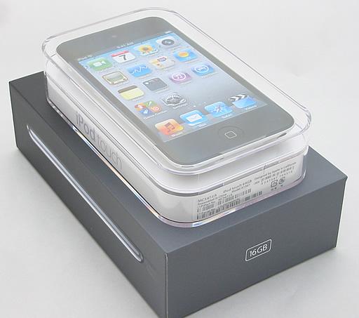初代iPod touchケースと第4世代iPod touchケース