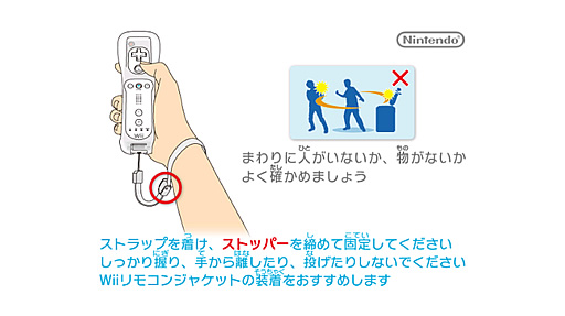 Wii注意画面