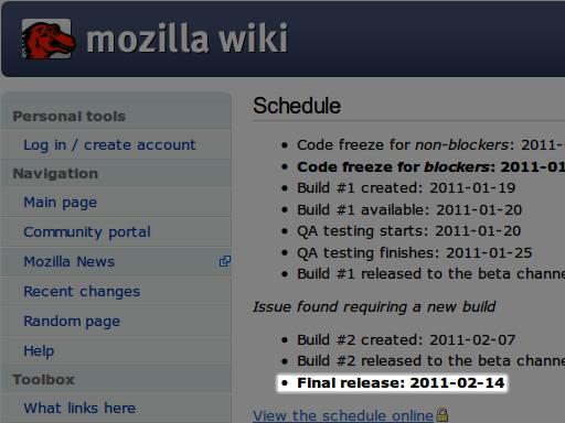 mozilla wiki