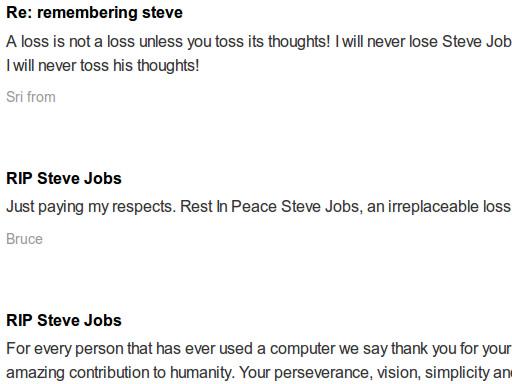 追悼 - Steve Jobs