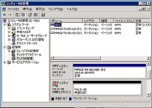 HGST 3TB HDD