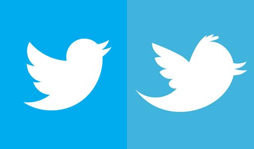 Twitter 新旧ロゴ比較