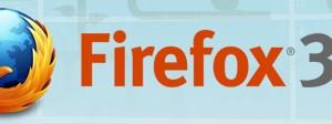 Firefox 3.5へのアップグレード通知、届く