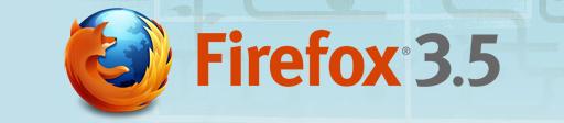Firefox 3.5 ロゴ
