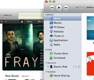 iTunes 9.1リリース、iPadに対応