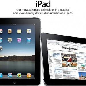 アップル、タブレット端末「iPad」発表