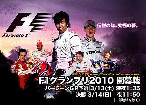 フジテレビ F1サイト