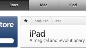 米アップルストア、「iPad」全モデルの予約受付を開始
