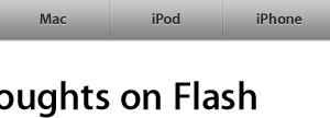 アップル、iPhoneにFlashを採用しない理由を文章で公開
