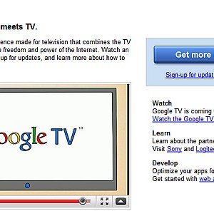 Google TV 発表、2010年秋に製品化