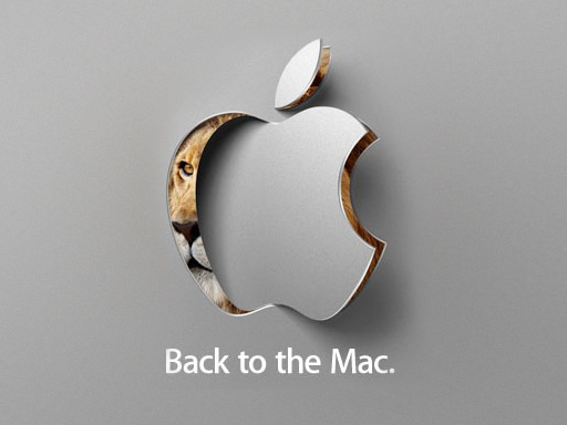 Back to the Mac.
