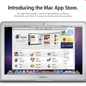 アップル、Mac App Storeをオープン