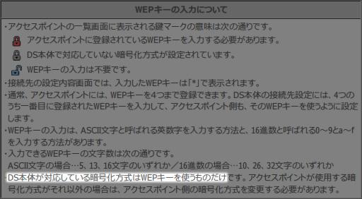 Nintendo DS セキュリティ