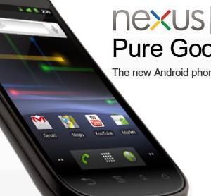 Google、自社開発ケータイ「Nexus S」を発表