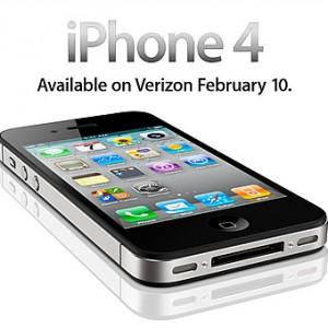 ベリゾンがCDMAに対応した「iPhone 4」を発表、2011年2月10日発売