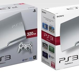 SCE、PlayStation3に新色「サテン・シルバー」追加
