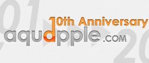 aquappleは2011年12月17日、サイト開設10周年を迎えました