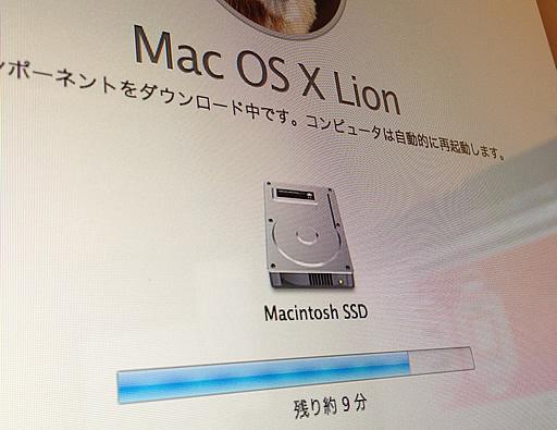 Mac OS X Lion Installer