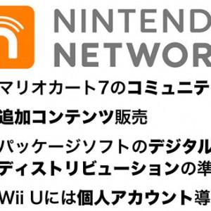任天堂、ニンテンドー3DSとWii Uで共通のオンラインネットワーク「ニンテンドーネットワーク」を発表