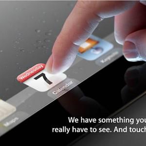 アップル、2012年3月7日にスペシャルイベントを開催