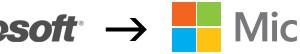 マイクロソフト、25年ぶりにロゴを一新