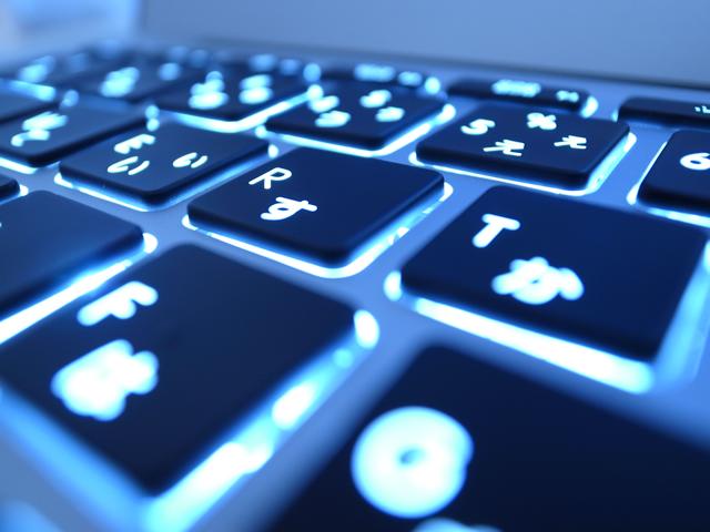 MacBook Airのキーボード