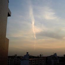 地震雲らしきもの