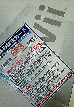 Wiiを初売りで購入
