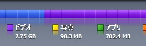 iPod touch Software 2.1にしてからギリギリまで容量を使えるようになった