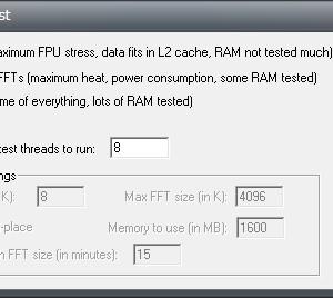 CPUに意図的に負荷を掛けて不具合が無いかチェックするフリーソフト「Prime95」