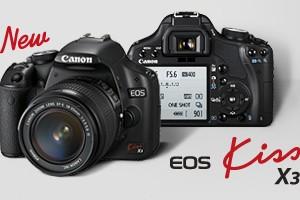 フルHD動画撮影対応の「EOS Kiss X3」発表