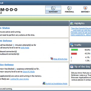 COMODO Internet Securityが日本語化