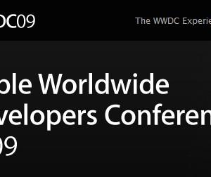 まもなくWWDC 2009開幕