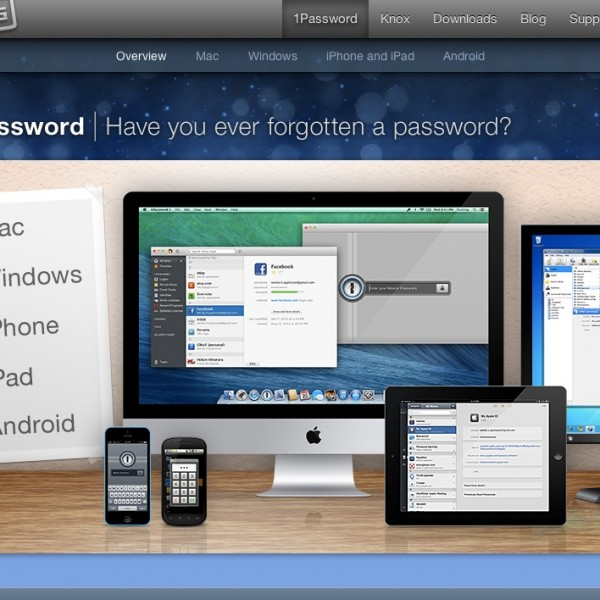 パスワード管理ソフトをWindows「ID Manager」からMac「1Password」へ乗り換えました