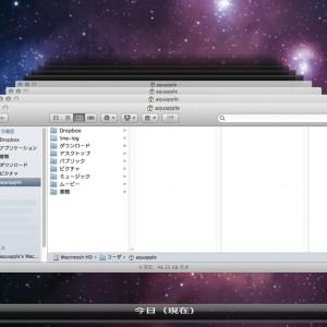 MacのTimeMachineを「フォルダ共有」から「USB直付け」に変更しました