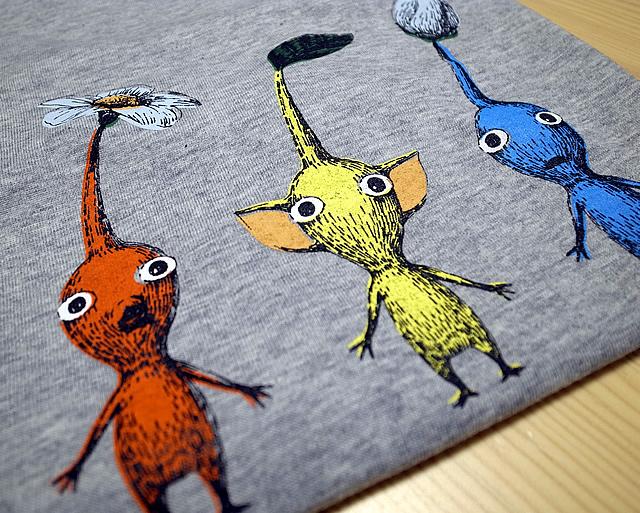 クラブニンテンドーTシャツ2013(ピクミン3)